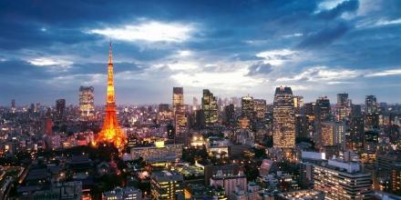 Tokyo skyskape
