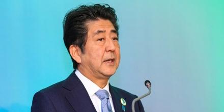 A photo of Shinzo Abe