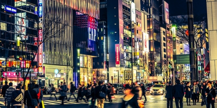Tokyo streetscape